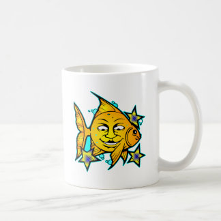 Sun Fish & Stars Tattoo Mugs