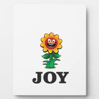 sun flower joy hope display plaques