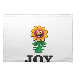 sun flower joy hope placemat