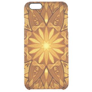 Sun Flower Mandala Clear iPhone 6 Plus Case