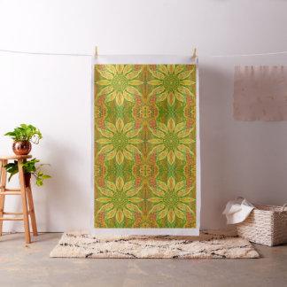 Sun Flower Sunflower bohemian floral pattern Fabric
