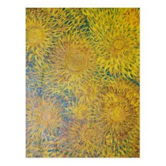 Sun Flowers Postcard