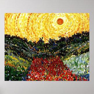 Sun Garden Poster