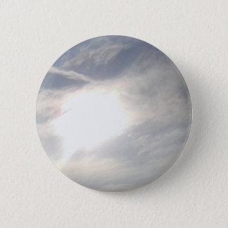 Sun Glow 6 Cm Round Badge