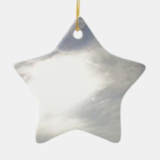Sun Glow Ceramic Ornament
