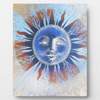 Sun God Sun Face gifts Photo Plaque