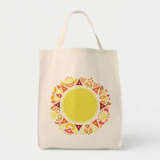 Sun Grocery Tote Bag