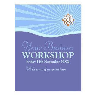 Sun Hills Business Workshop Invitation template Postcard