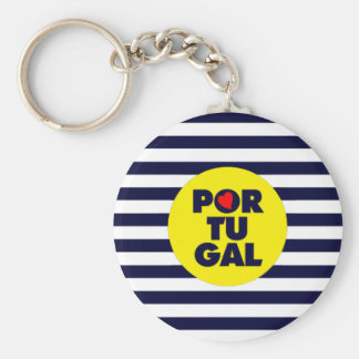 Sun in Portugal Key Ring