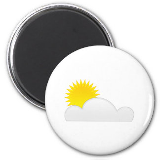 Sun in the Clouds Magnet
