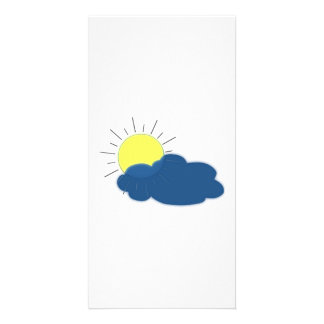 Sun in the Clouds Personalized Photo Card