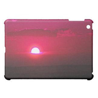 Sun in the Clouds (red) iPad Mini Case