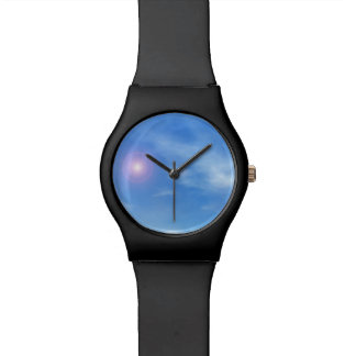 Sun in the sky background - 3D render Wrist Watches