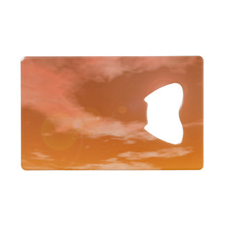 Sun in the sunset sky background - 3D render