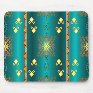 Sun In Winter Blanket Pattern Mousepad