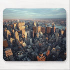 Sun Is Setting On New York City City-scape View Mouse Pad