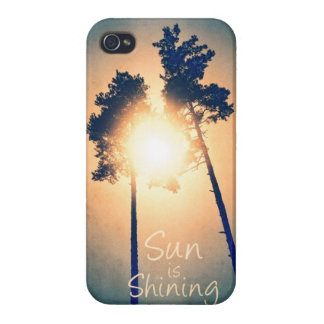 Sun is shining covers for iPhone 4