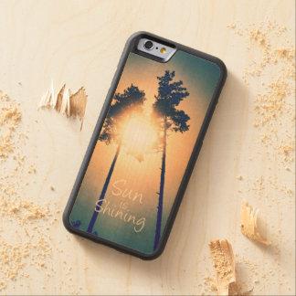 Sun is shining maple iPhone 6 bumper case