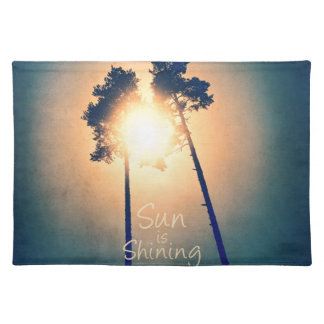 Sun is shining placemat