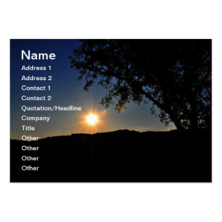 Sun is still shining business card templates