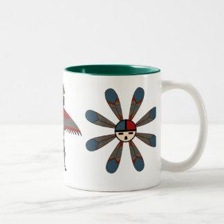 Sun Journey Two-Tone Coffee Mug