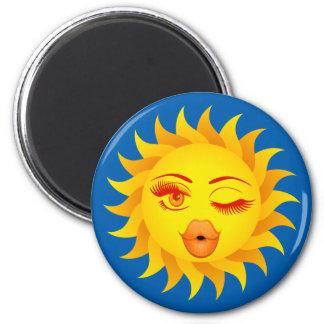 Sun Kiss Magnet