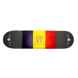 Sun kissed Andorra Flag Skate Deck