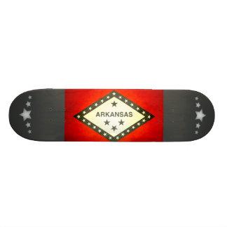 Sun kissed Arkansas Flag Skate Boards