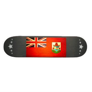 Sun kissed Bermuda Flag Skate Board Decks
