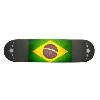 Sun kissed Brazil Flag Skate Deck