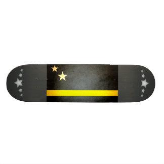 Sun kissed Curacao Flag Custom Skate Board