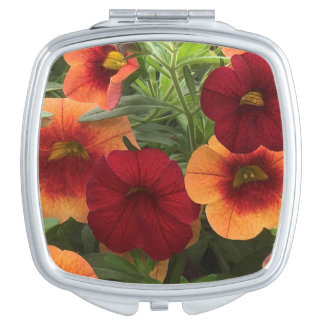 Sun Kissed Floral Mirror For Makeup