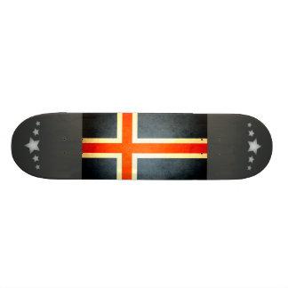 Sun kissed Iceland Flag Skate Boards