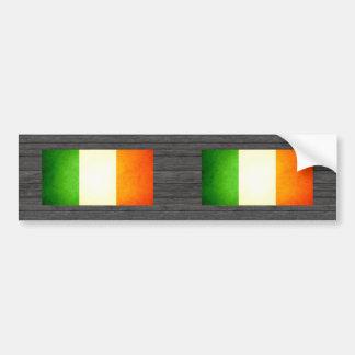 Sun kissed Ireland Flag Bumper Sticker