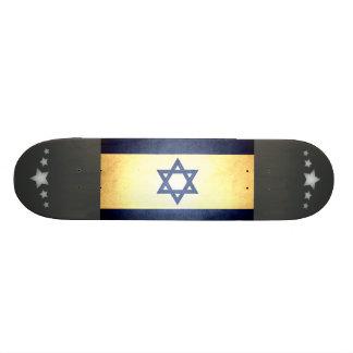 Sun kissed Israel Flag Skateboard
