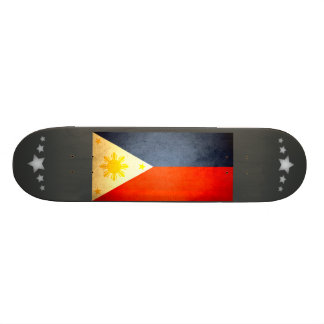 Sun kissed Philippines Flag Skateboards