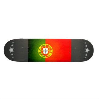 Sun kissed Portugal Flag Skate Deck