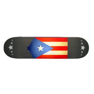 Sun kissed Puerto Rico Flag Skateboards