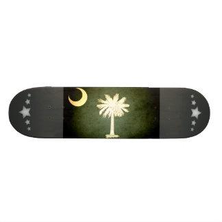 Sun kissed South Carolina Flag Skateboards