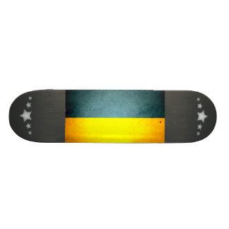 Sun kissed Ukraine Flag Custom Skateboard