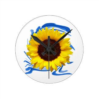 Sun-lights Grace Round Clock