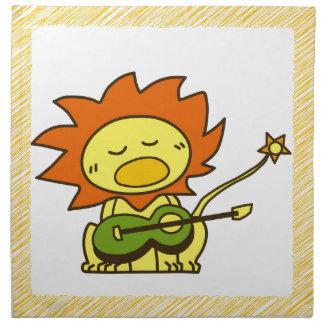 Sun lion napkin