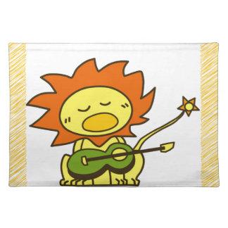 Sun lion placemat