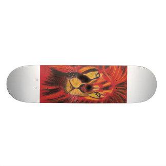 sun lion skate board decks