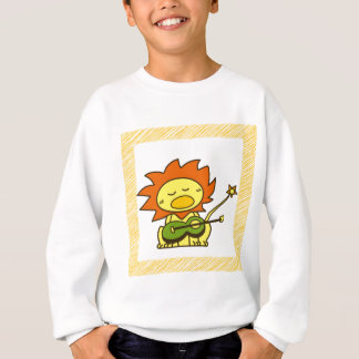 Sun lion sweatshirt