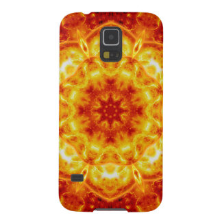 Sun Lotus Mandala Galaxy S5 Cases