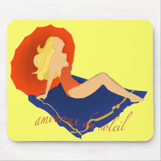 Sun Lover Mouse Pad
