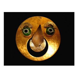 Sun Mask Postcard