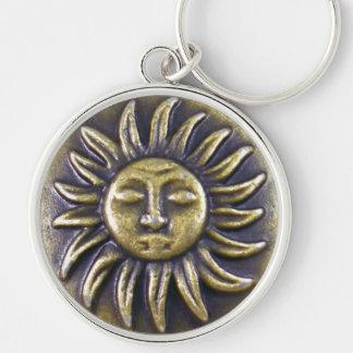 Sun Medallion Key Ring