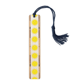 Sun Wood Bookmark